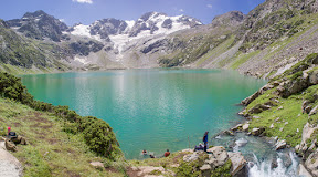 View of Katora Lake, Upper Dir