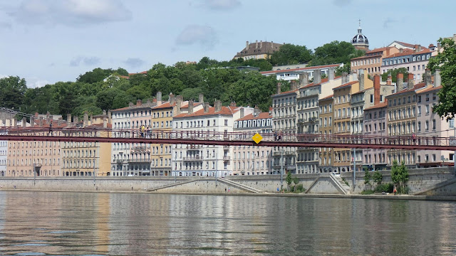 Travelling with bluey the saone river in lyon - Restaurant confluence domo ...