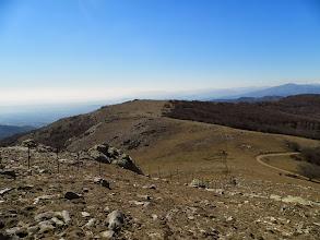 """Photo: du """"Puig de Pradets"""", vue sur """"coll de l'Estaca"""" et """"coll de les Mosqueres"""""""