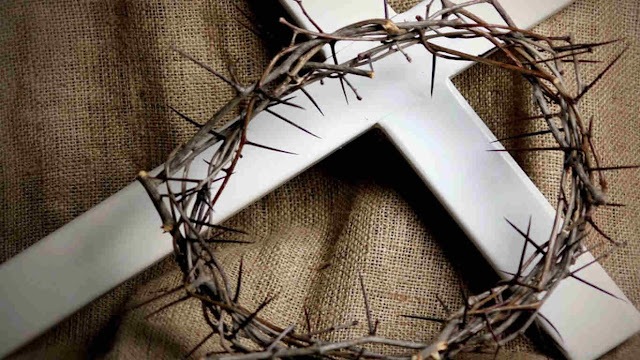 cruz corona espinas cristo jesus