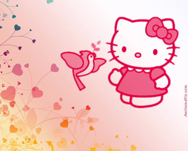 Pink Hello Kitty Wallpaper