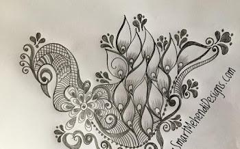 Beautiful Peacock motif Design
