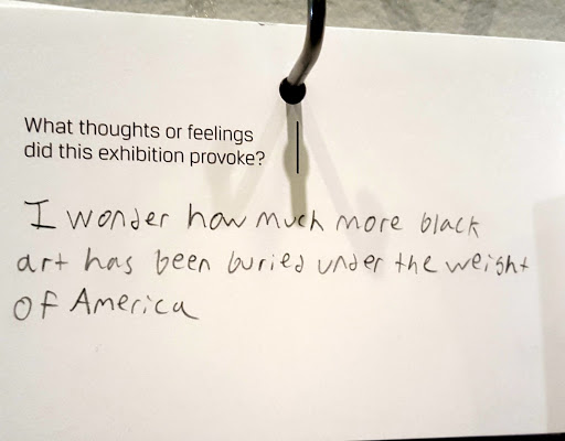 I wonder how much more black art has been buried under the weight of America. From Love, Change, and the Expression of Thought: 30 Americans at the Detroit Institute of Arts