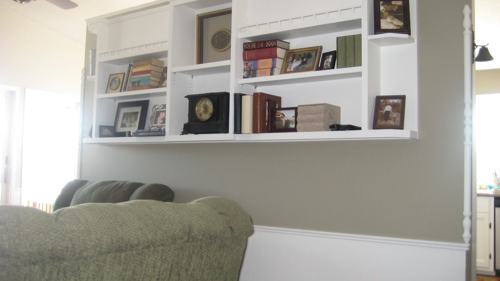 The Parion In Berkshire Beige I M Still Accessorizing Bookcase Ignore This Look