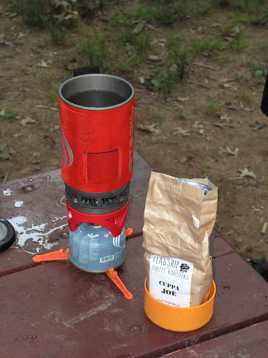 Cuppa Joe from Flagship and JetBoil