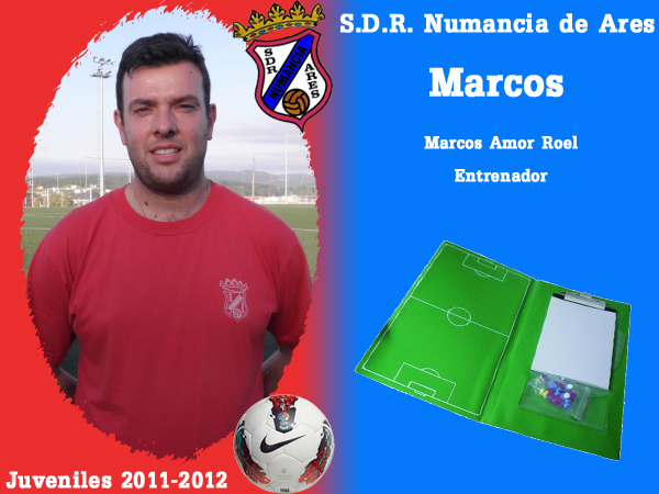 ADR Numancia de Ares. Xuvenís 2011-2012. MARCOS.