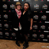 WWW.ENTSIMAGES.COM -   Cery Matthews and Natalie Duncan  arriving   at Jazz FM Awards at One Marylebone road London January 31st 2013                                                      Photo Mobis Photos/OIC 0203 174 1069