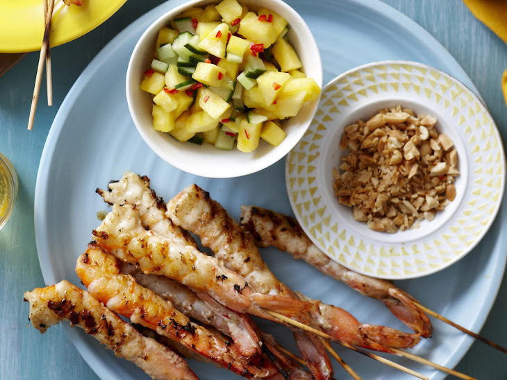 Marinated Shrimp with Pineapple Salsa Recipe