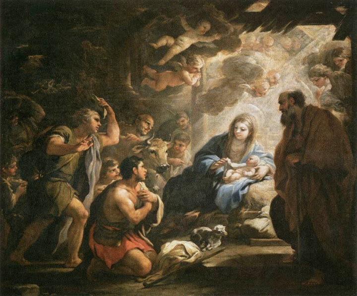 Luca Giordano - Adoration of the Shepherds