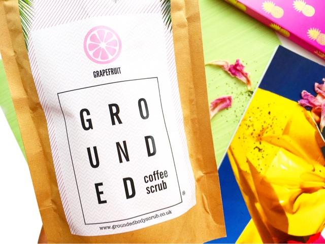 grounded coffee scrub review, grounded coffee scrub grapefruit review
