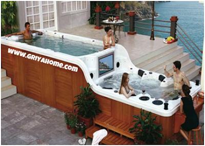 Bathub Modern Bertingkat