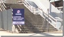 Stazione di Scampia il 30 maggio