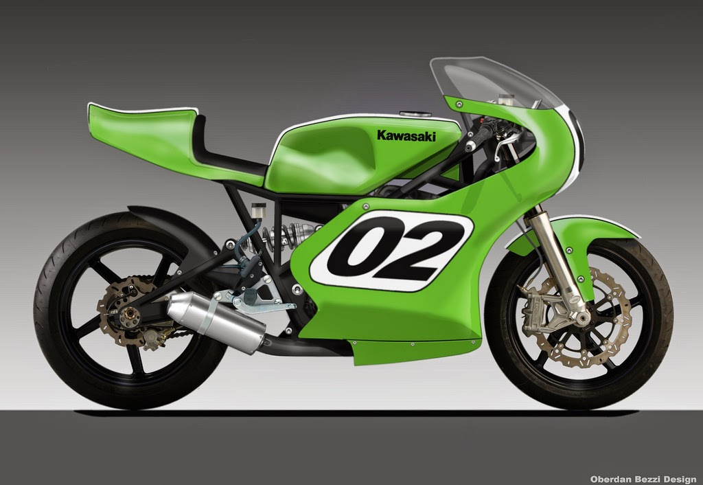 Kawasaki Ztop Speed