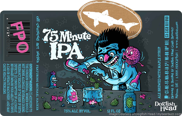 Dogfish Head 75 Minute IPA Returns In New Packaging