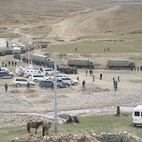 Chinese security forces in Shigatse