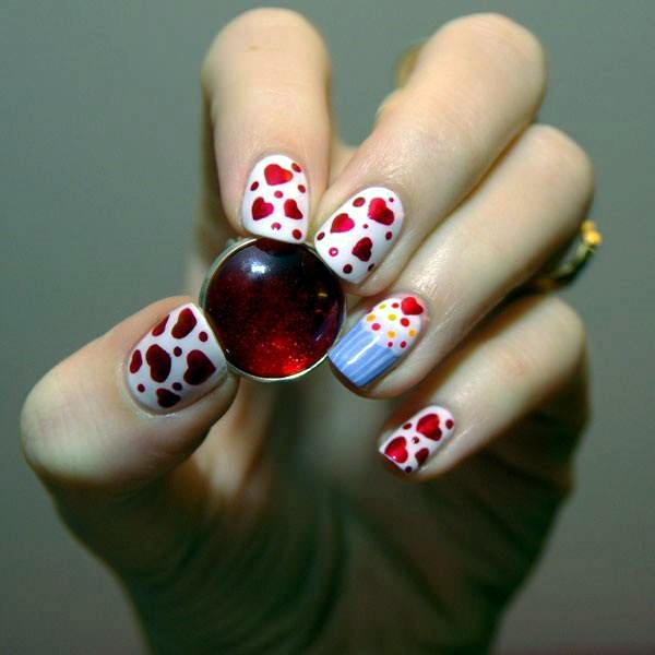 latest nail art designs for short nails - Styles Art