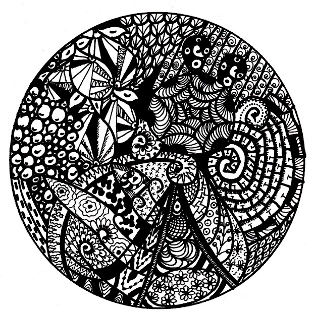 Advanced Mandala Coloring Pages With Spring Flower Pattern Free