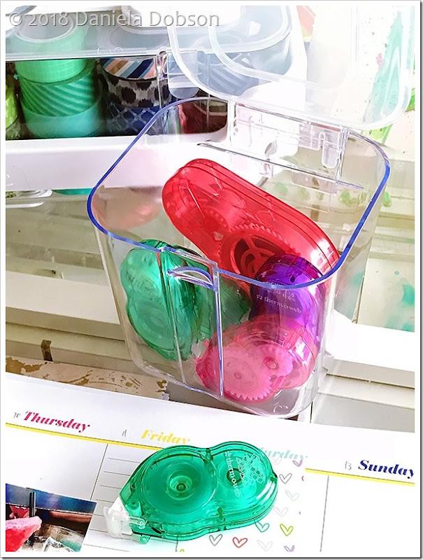 Caddy organizer adhesive 8 by Daniela Dobson