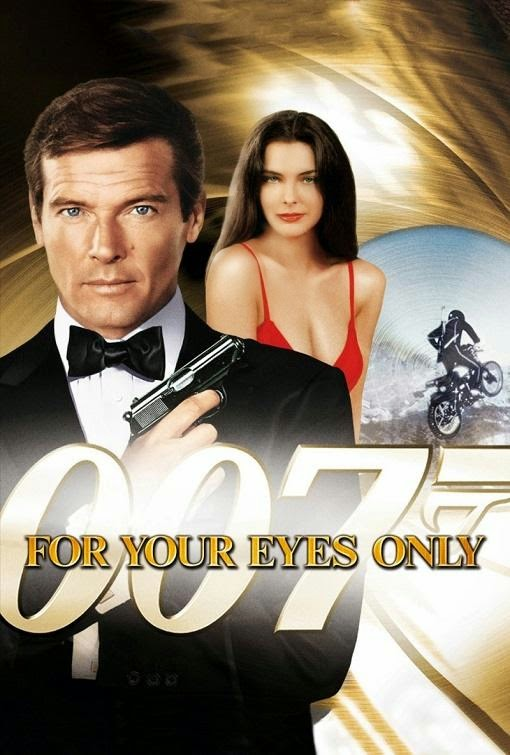 Poster Of For Your Eyes Only (1981) Full Movie Hindi Dubbed Free Download Watch Online At alldownloads4u.com