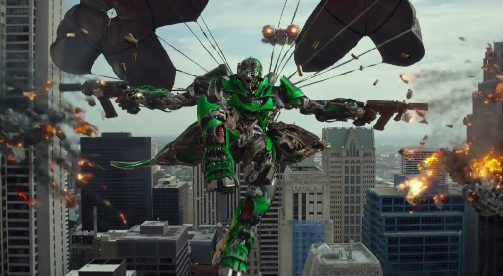 Transformers Age of Extinction Super Bowl Teaser Video