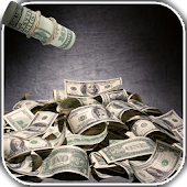 Falling Dollars 3D Wallpaper
