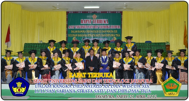 Wisuda ke XIX Universitas Sains dan Teknologi Jayapura