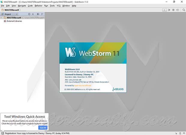 WebStorm 11