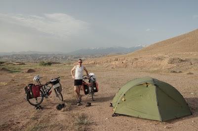 Zelten Im Iran