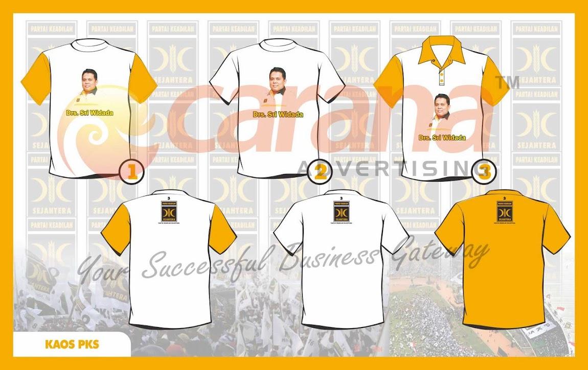 Desain Kaos Partai PKS