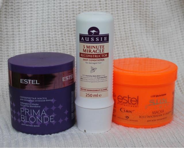 Бюджетные маски для волос