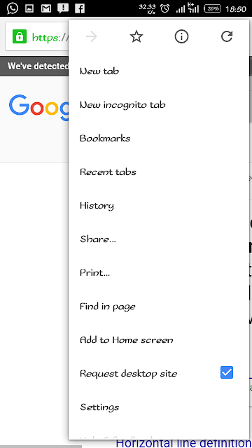 How To View Google Desktop Version On Android Phones