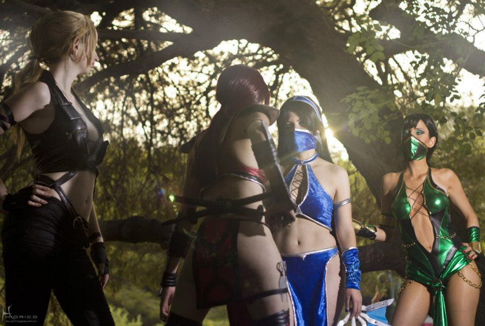 Ngất ngây với cosplay Mortal Kombat nóng bỏng - Ảnh 10