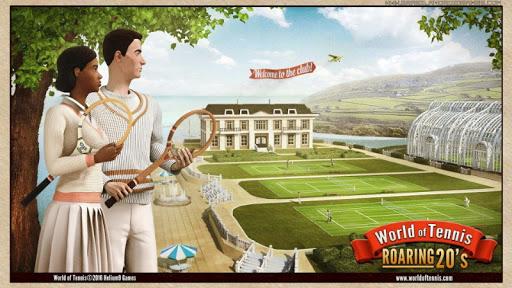 World of Tennis: Roaring 20's Imagem do Jogo