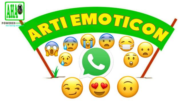 Aha Sarang Komputer Whatsapp Arti Smileys Emoticon