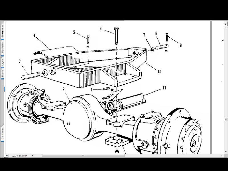 Allis Chalmers 220 Tractor Parts Manual