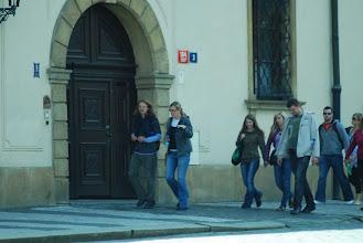 Photo: Čtvrťáci v Praze fotoaparátem studenta Martina Ludwiga (5. - 8. září 2010).