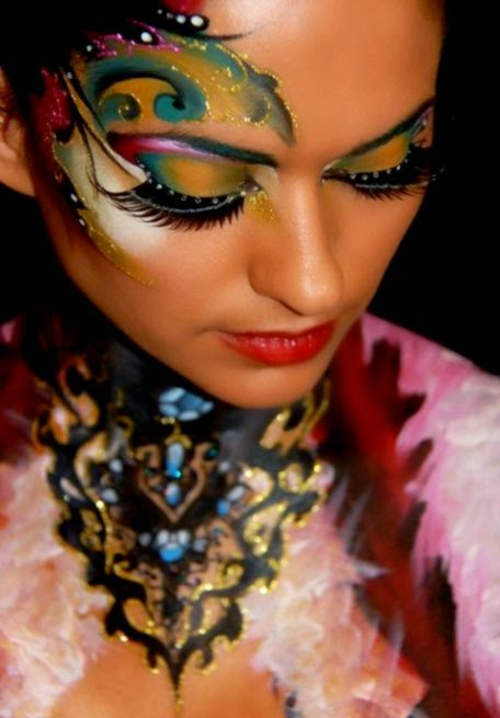Free amp Live Bodypainting Class with Jinny Makeup Artiste   Faba