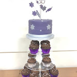 Silver and purple cupcake tower 2.JPG