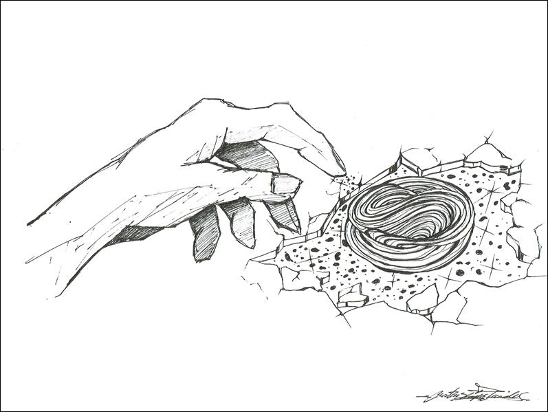Desenho do Mateus