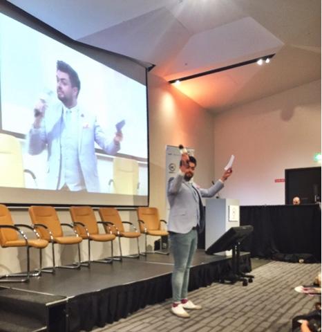 James Patrice MC of BloggerConf 20166