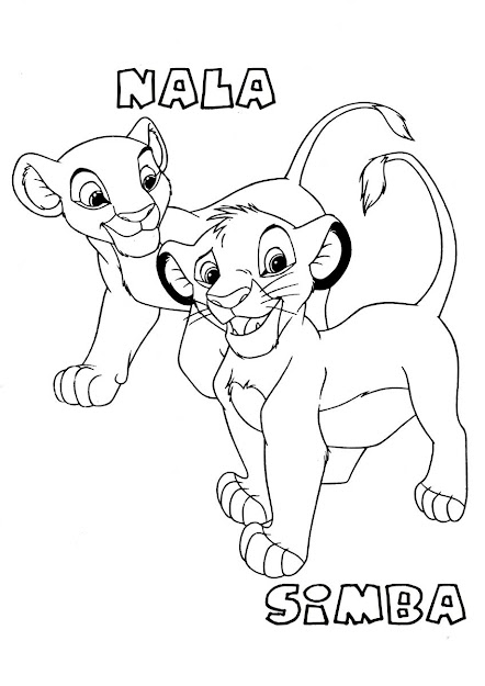 Fotos The Lion King Coloring Pages