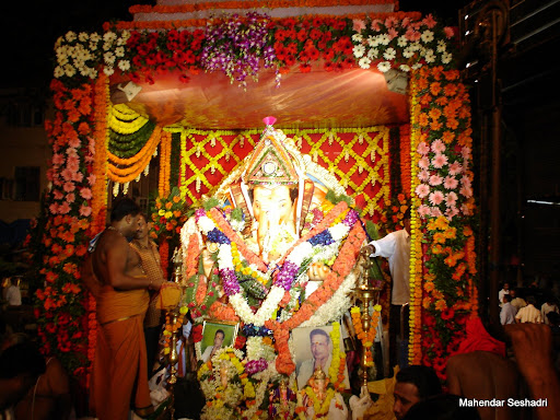 Fondly Called as Bhai's Ganapati By Localites In Matunga , Late Mudaliar Varadarajan had Started This Ganeshotsav .