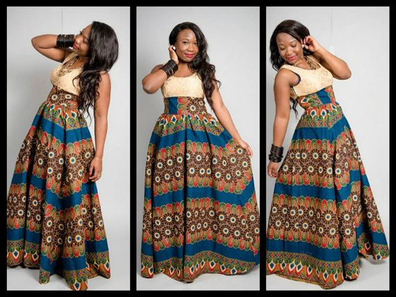 INVENTIVE AND TRENDY MOST RECENT ANKARA OUTFITS FOR WOMEN_ANKARA LONG OUTFITS DESIGNS 5