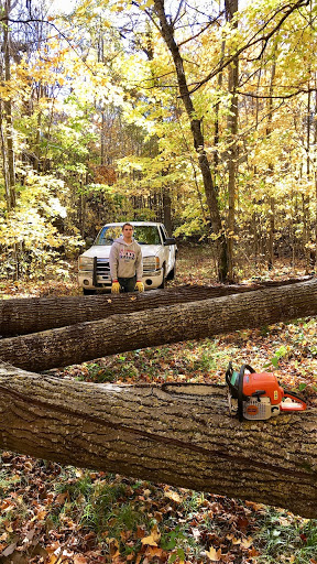 Clearing deadfall on North Loup, October 5th, 2017.