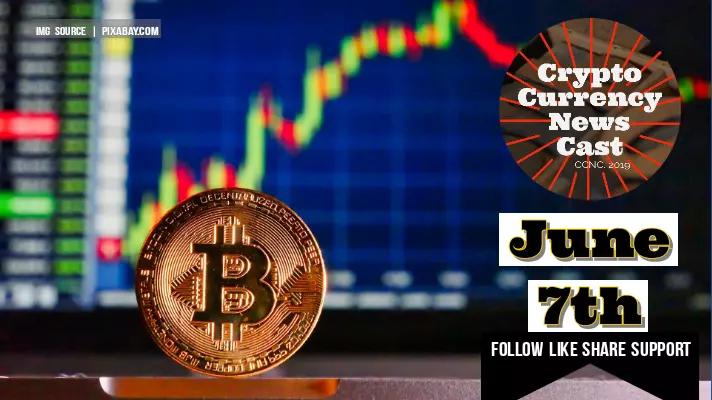 Crypto News Cast June 7th 2021 ?