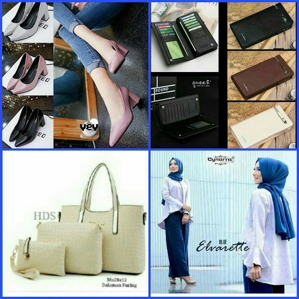 YUNASHOPHOLIC SUPPLIER FASHION WANITA TERIMA RESELLER / DROPSHIPPER