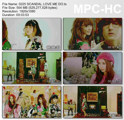 [MUSIC VIDEO] SCANDAL – LOVE ME DO (2016.03.02/MP4/RAR)