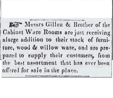 Copy centered of GILLEN_and Brother_Messrs_SpiritoftheTimes_13 Sep 1853_pg 2