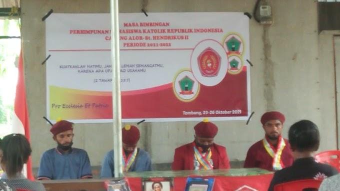 Gelar MABIM, Ketua Presidium PMKRI Cabang Alor Steven N. Momay Tegaskan PMKRI Selalu di Garis Perjuangan