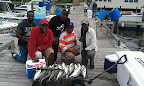 Catch for a 1/2 half day charter trip